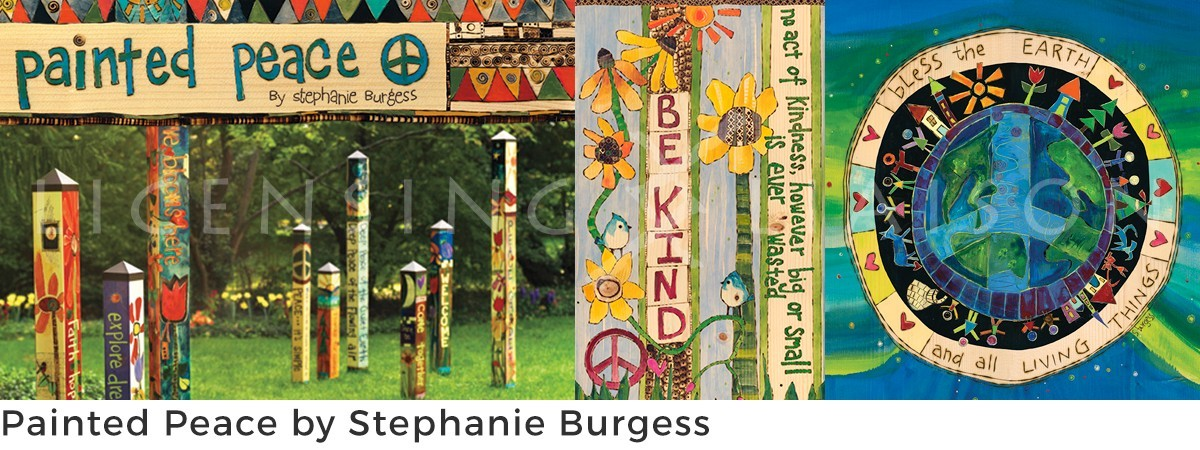 Painted Peace by Stephanie Burgess