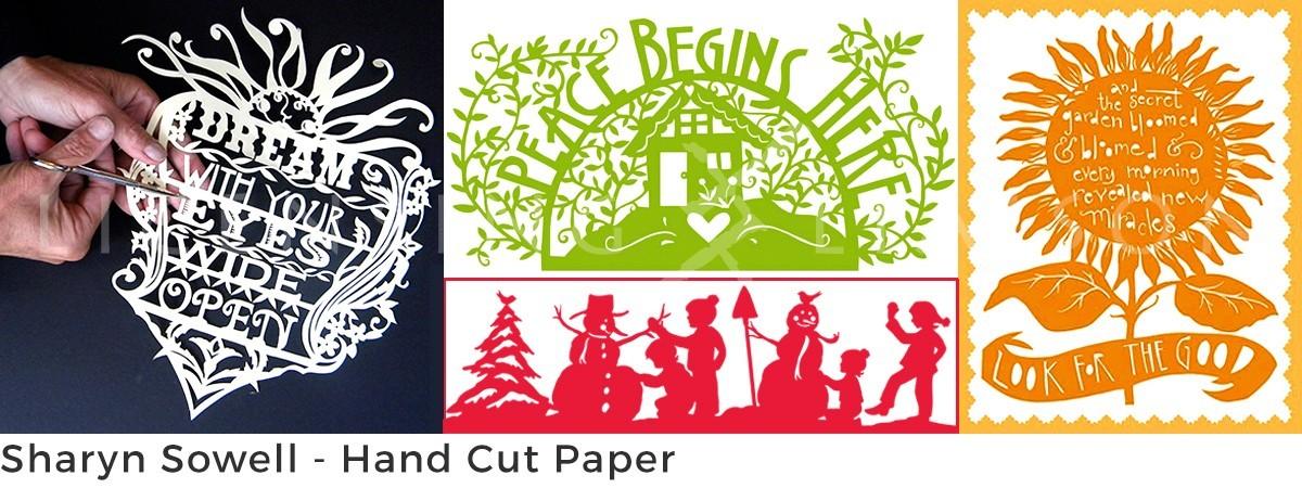 Sharyn Sowell – Hand Cut Paper