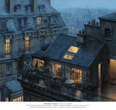 Evgeny Lushpin | Represented by Licensing Liaison